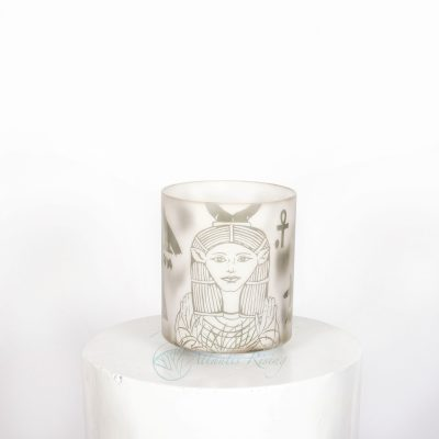 Sage Forest with Etched Hathor 6″ A#+25 – Third Eye Chakra
