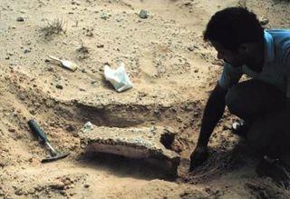 Abb. 9 ... und hier das vom MAP bei seinen Recherchen entdeckte Originalfoto des Abu Dabi Islands Archeological Survey (ADIAS), das im Jahr 1981 veröffentlicht wurde