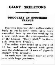 Abb. 8 Die Meldung des Geraldton Guardian and Express vom 28.04. 1930