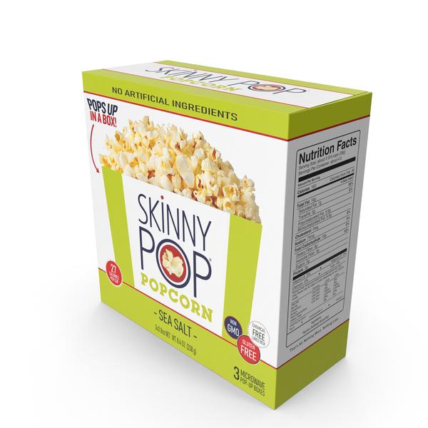 skinnypop sea salt microwave popcorn
