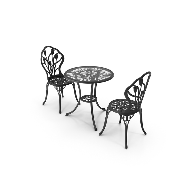 cast iron patio furniture png images