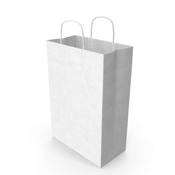 White Paper Bag PNG Images & PSDs for Download ...