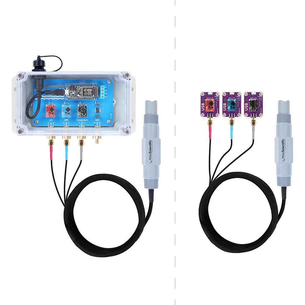 Industrial pH/ORP/Temp Probe