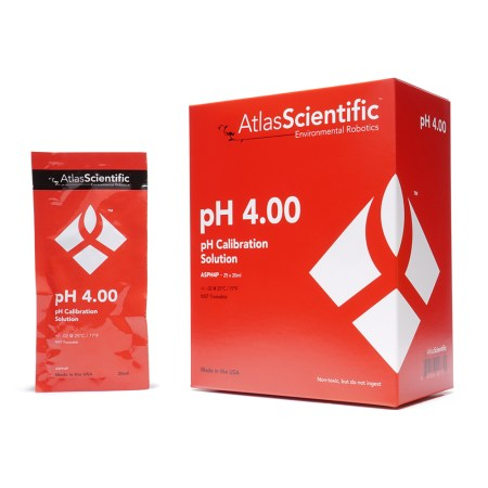 pH 4.00 Calibration Solution Pouches (Box of 25)