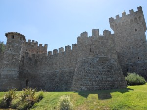 Afternoon at Napa Valley's Wine Castle, The Castello di Amorosa