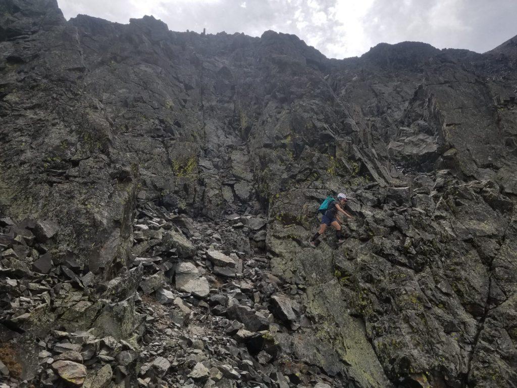 A big step across the mountain