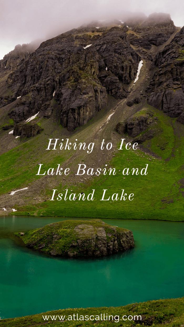 Hiking to Ice Lake Basin and Island Lake