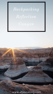 Backpacking Reflection Canyon