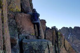 El Diente Mt Wilson Traverse