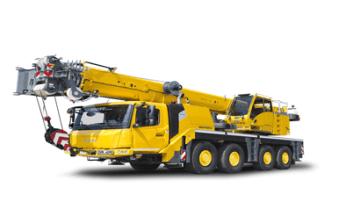 Grove All Terrain Mobile Crane 80 ton
