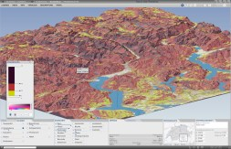 Slope: Changing the classification and coloring of the terrain