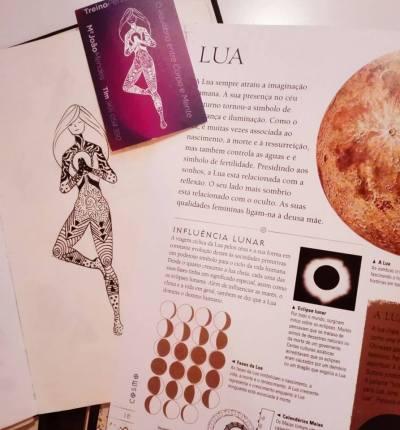 design holístico espiritual gráfico atlas do ser