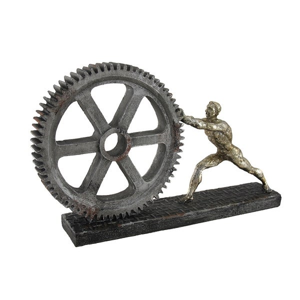 Man pushing Cog