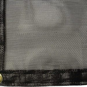 Black Shade Cloth