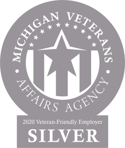 Michigan Veterans Affairs Agency 2020_Silver Certified Employer