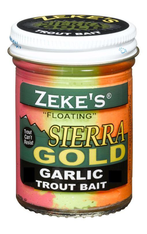0904 Zeke's Sierra Gold Floating Trout Bait - Garlic/Rainbow0904 Zeke's Sierra Gold Floating Trout Bait - Garlic/Rainbow