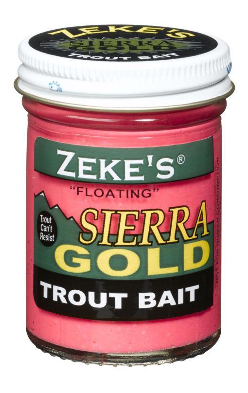 0911 Zeke's Sierra Gold Floating Trout Bait - Pink