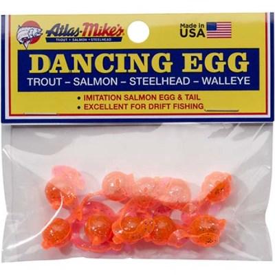 42023 Atlas-Mike's Dancing Egg Glitter Orange