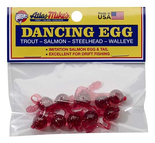 42026 Atlas-Mike's Dancing Egg Glitter Red