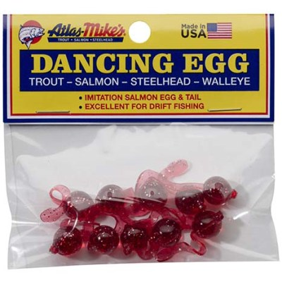 42026 Atlas-Mike's Dancing Egg Glitter Red