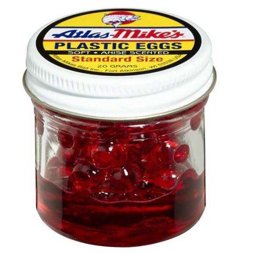 43006 Atlas Plastic Egg - Red