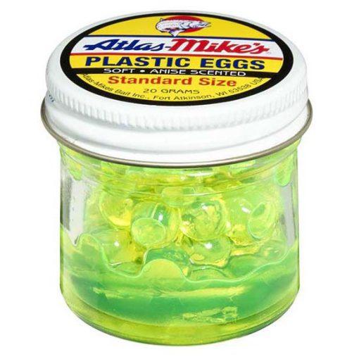 43007 Atlas Plastic Egg - Chartreuse