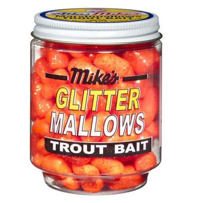 5201 Mike's Glitter Glo Mallows - Orange/Garlic
