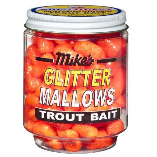 5211 Mike's Glitter Glo Mallows - Orange/Cheese