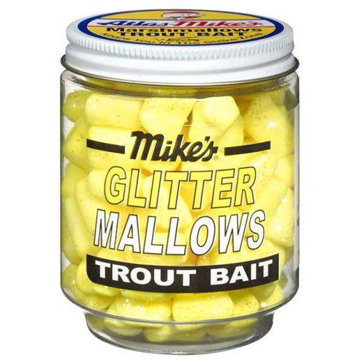 5213 Mike's Glitter Glo Mallows - Yellow/Garlic
