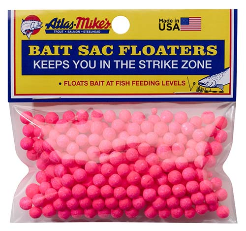 99005 Atlas Mike's Bait Sac Floaters Pink
