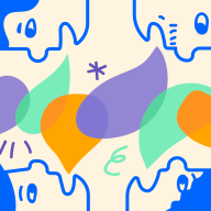 Illustration of faces with speech bubbles