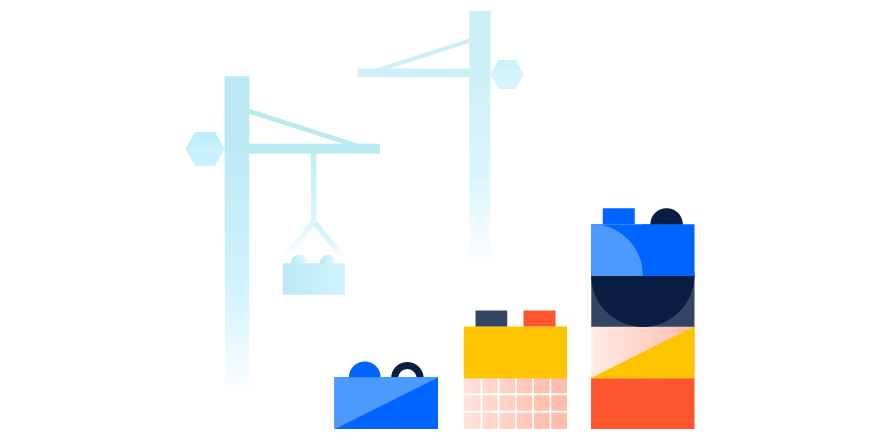 Illustration of scaling internal IT