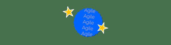 agile sticker