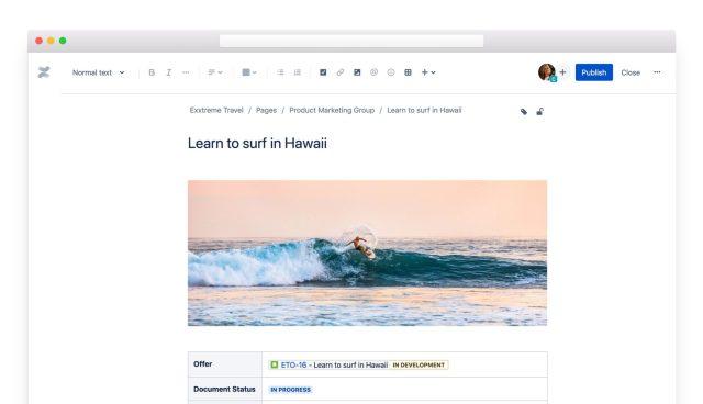 confluence document screenshot