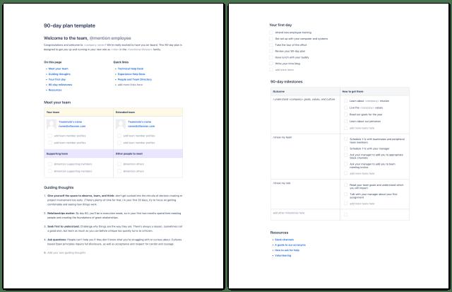90 plan pdf for employee onboarding