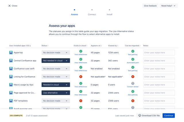 app assessment tool
