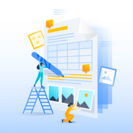 illo for tables in confluence