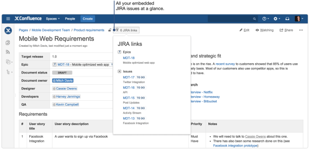 product-requirement-jira-links