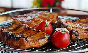 Barbequed meats