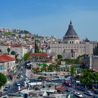 Nazareth City and Basilica of The Annunciation