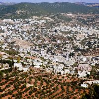 Ajloun Town as Seen from the Castle