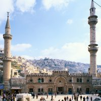 Al-Husseini Mosque in Amman Downtown