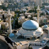 King Abdullah Mosque Aerial View