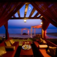 1001 Nights Tent at The Dead Sea