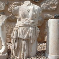 Marble Statue Remains - Dar As-Saraya - Irbid