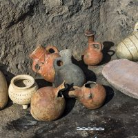 Clay Jars from Iron Age - Pella
