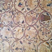 The details of Mosaic Floor of St. Stephen Church - Umm Ar-Rasas