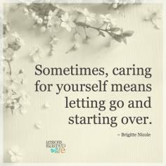 starting over agin