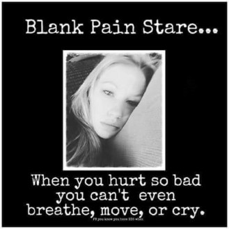 pain stare