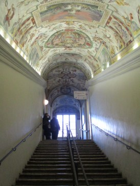 Der Weg zur Sixtinischen Kapelle